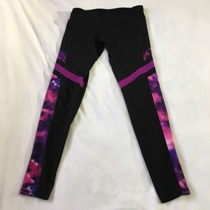 Champion Pants - Champion Duo Dry Women Large black & pink legging